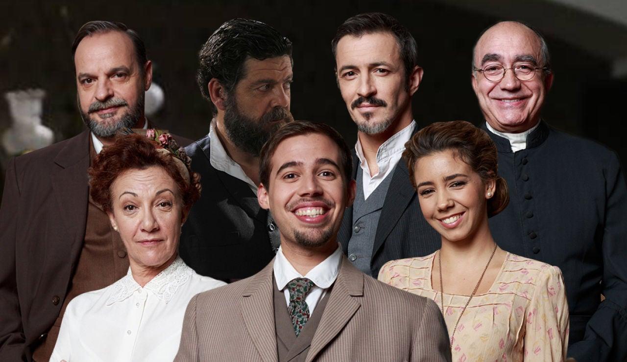 Los mensajes de los actores de Puente Viejo para celebrar el séptimo aniversario