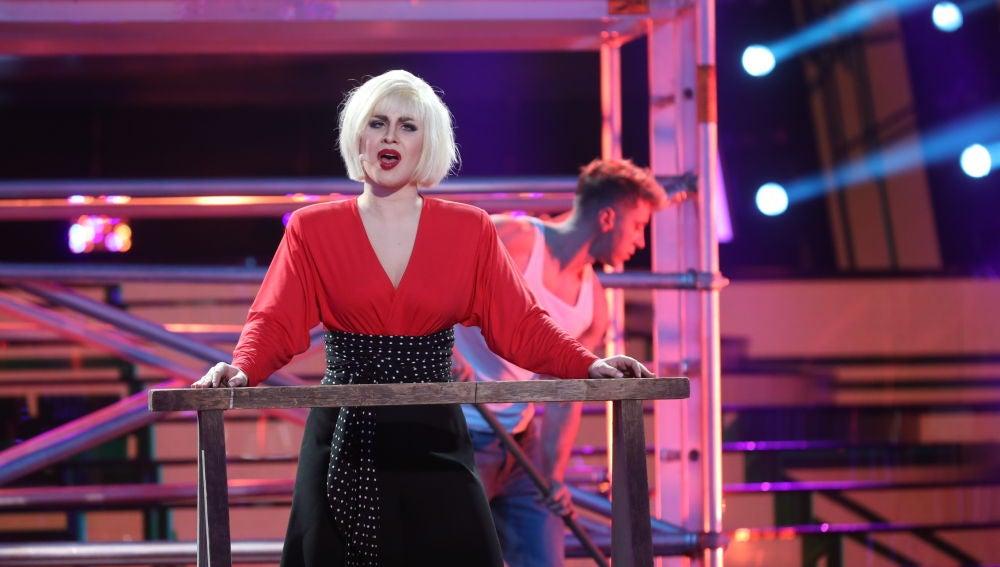 Lucía Gil paraliza el plató de 'Tu cara me suena' con 'Stop' de Sam Brown