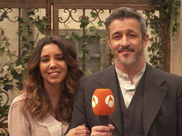 La felicitación de Sandra Cervera y Fernando Coronado por el séptimo aniversario de 'El secreto de Puente Viejo'