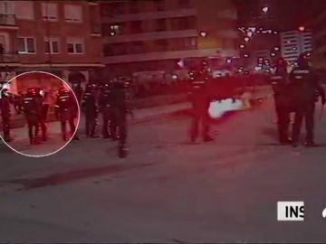 La muerte de un ertzaina, el punto más negro de una noche de terror ultra en Bilbao