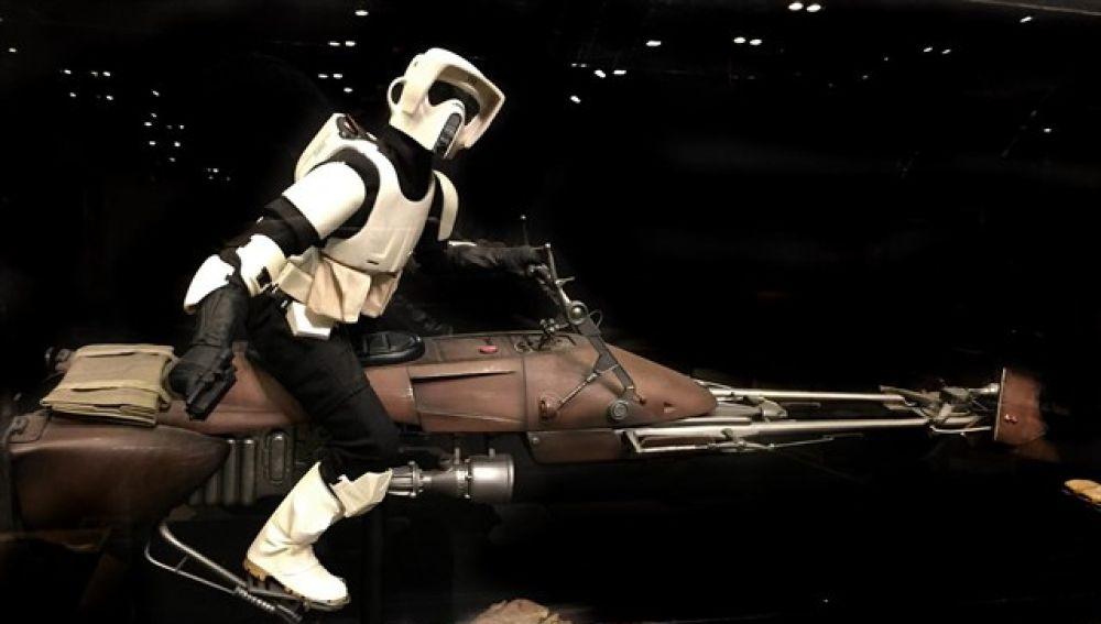 Figura de la exposición de Star Wars en Madrid Xanadú