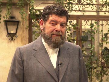 La felicitación de Mario Zorrilla por el séptimo aniversario de 'El secreto de Puente Viejo'