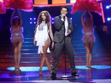 Miquel Fernández anima el plató de 'Tu cara me suena' con 'Aguanile' de Marc Anthony