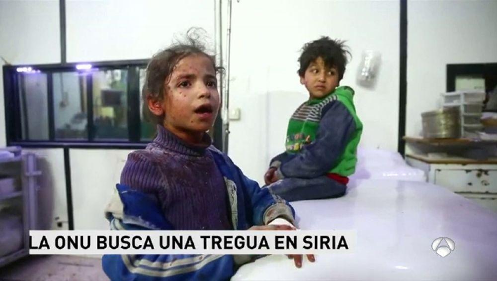 El Consejo de Seguridad de la ONU aprueba una tregua de 30 días en Siria