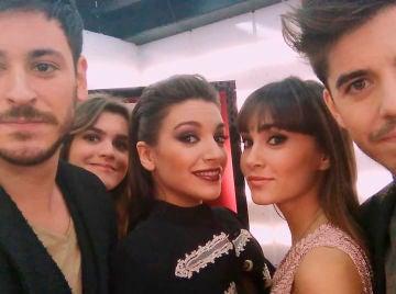 Cepeda, Amaia, Ana Guerra, Aitana y Roi