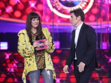 Lucía Jiménez se hace con el triunfo de la segunda semifinal de la sexta edición de 'Tu cara me suena'