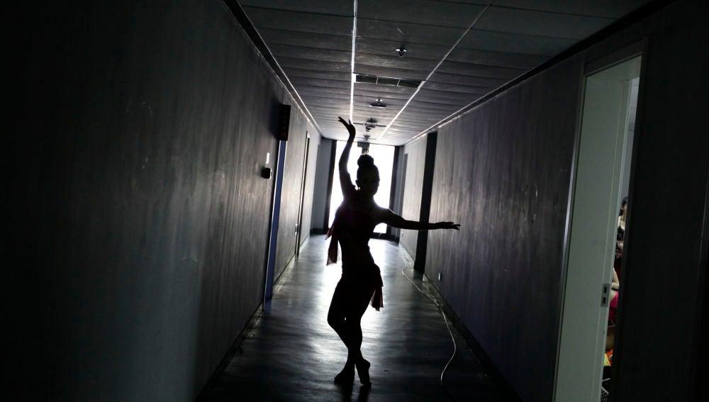 bailarina de striptease