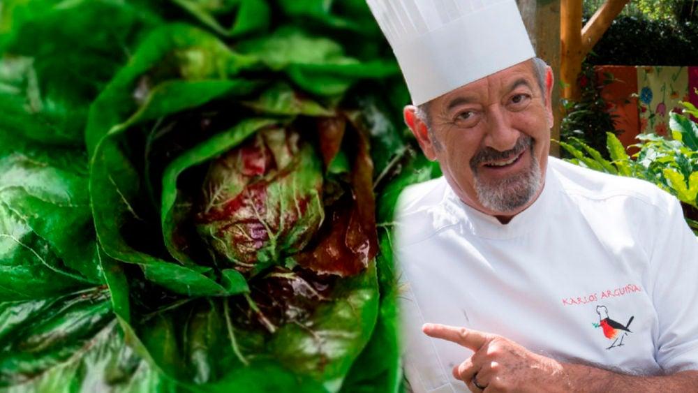 Los cinco razones por las que debes preparar este plato de achicoria por sus beneficios para la salud elaborado por Karlos Arguiñano