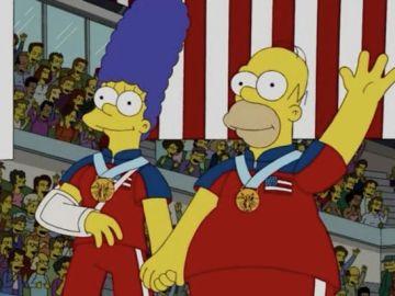 Predicción de Los Simpson sobre los Juegos Olímpicos de Invierno