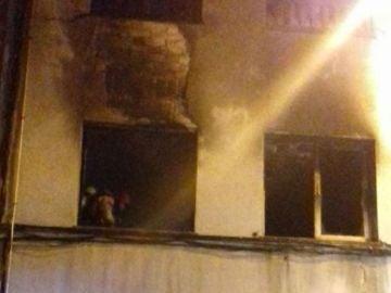 Incendio en un piso de Santa Coloma de Gramenet