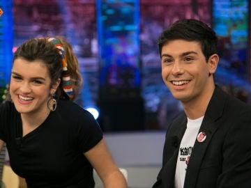 Amaia y Alfred aceptan el reto de Pablo Motos en 'El Hormiguero 3.0' e interpretan 'Tu canción' a dúo extremo