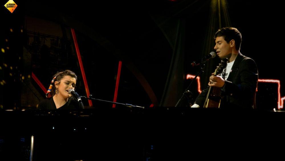 Alfred y Amaia conquistan al público de 'El Hormiguero 3.0' interpretando 'Tu canción', su tema para Eurovisión