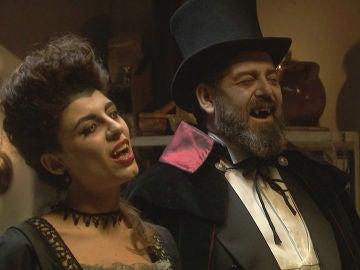 Mauricio y Nazaria se convierten en dos terroríficos vampiros