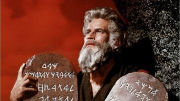 Los diez mandamientos (fotograma de la película)