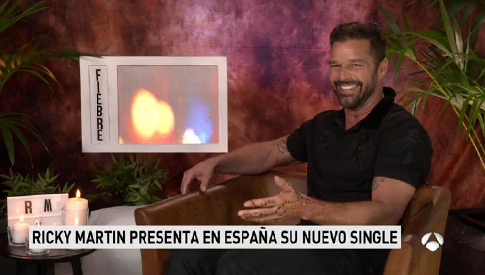 """Ricky Martin busca ocupar el hueco de 'Despacito' el próximo verano con 'Fiebre': """"Lo que corre por mi vida es fusión"""""""