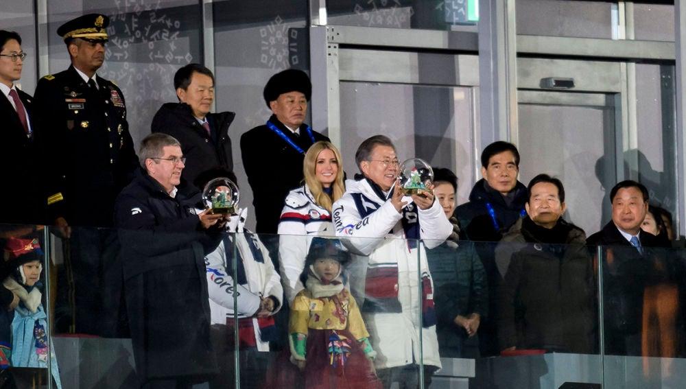 Ivanka Trump en PyeongChang