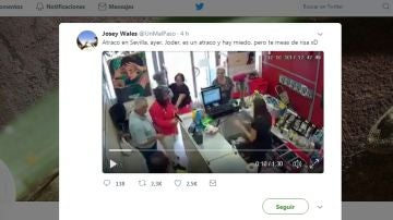 Atraco en Sevilla