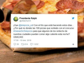 Pizzas tuiteras