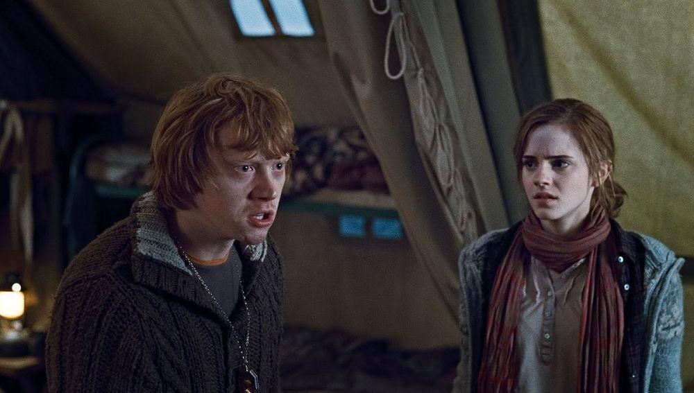 Ron Weasley con problemitas en 'Las Reliquias de la Muerte'