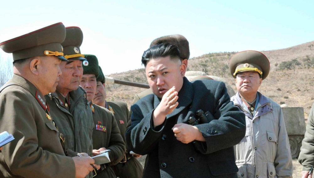 El líder de Corea del Norte, Kim Jong Un