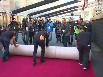 Hollywood despliega la alfombra roja y marca la cuenta atrás hacia los Oscar