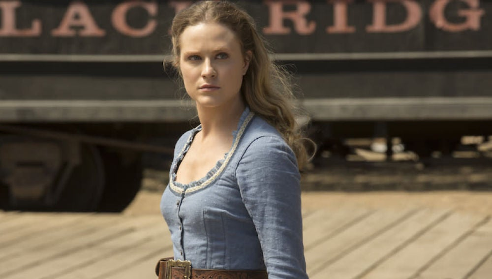Evan Rachel Wood en 'Westworld'