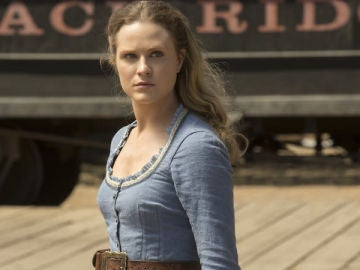 Evan Rachel Wood en 'Westworld'