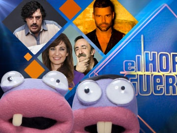 Javier Bardem, Mariló Montero y Santi Rodríguez, y Ricky Martin se divertirán la próxima semana en 'El Hormiguero 3.0'