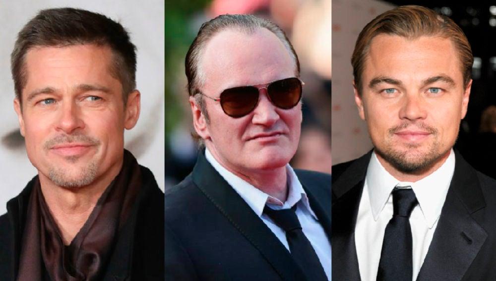 Leonardo Dicaprio, Brad Pitt y Tarantino, juntos en la misma película