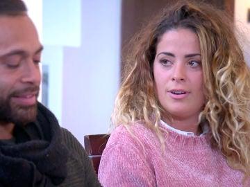 Tensión entre Dámaris y Gabriel ante la pregunta, ¿te gustaría tener sexo con tu pareja?