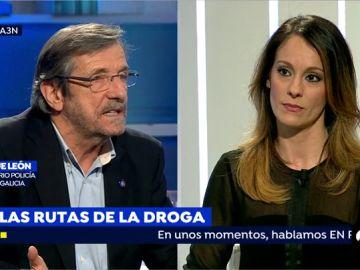 """Enrique León, excomisario de la Policía Nacional en Galicia, sobre la droga: """"Oubiña puso los medios suficientes en el mercado"""""""