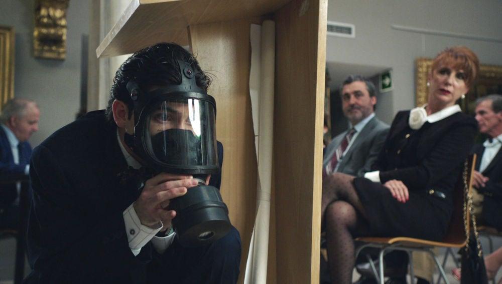 Las máscaras antigás que salvaron al 'Cuerpo de Élite'