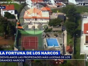 Las mansiones de la Ría de Arousa que muestran el lujo de los narcos en una de las zonas más deprimidas de España