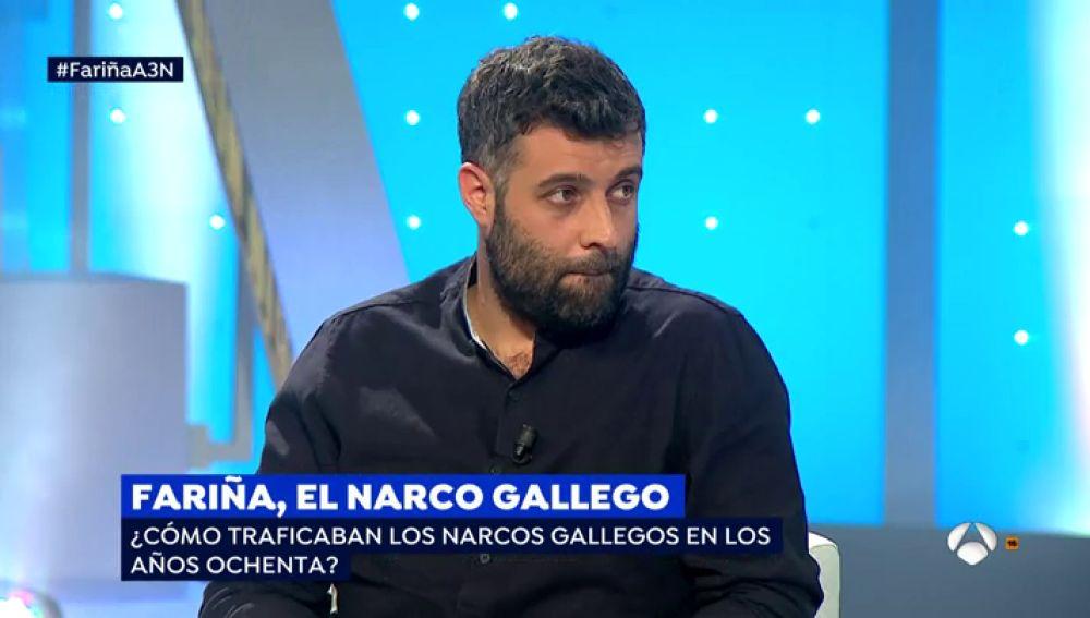 """Nacho Carretero, sorprendido por el secuestro de 'Fariña': """"Cuando se escribe de personas reales te guardas mucho de ser cauteloso"""""""