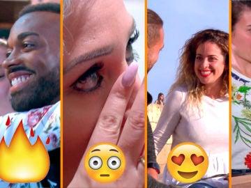 Cuchillos voladores, fiesta, sexo y celos, en la reunión de parejas de 'Casados a primera vista'