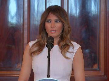 Melania Trump, consiguió la residencia con una visa para profesional de prestigio