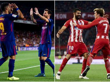 Barça y Atleti se juegan la Liga en el Camp Nou
