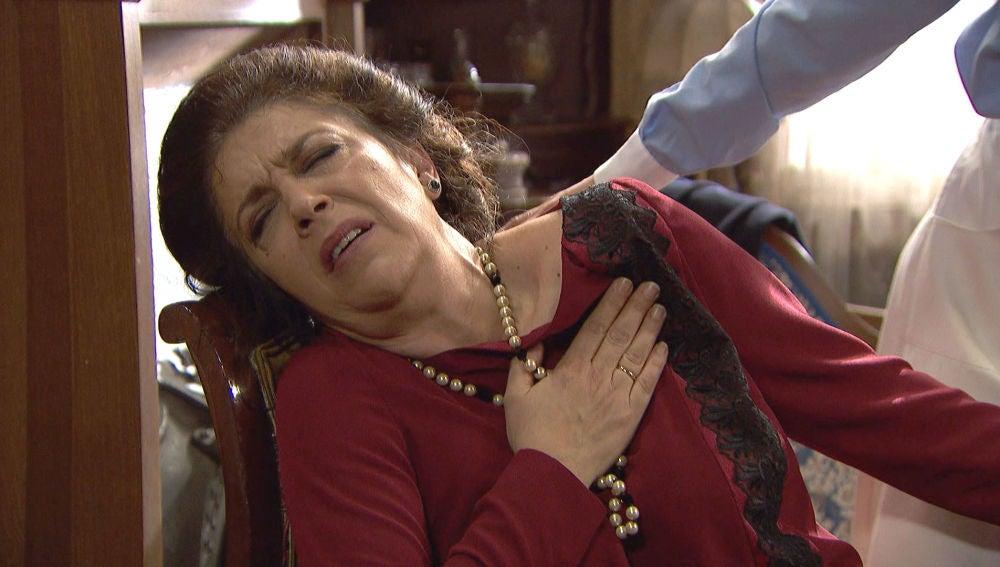 Francisca sufre un ataque al corazón