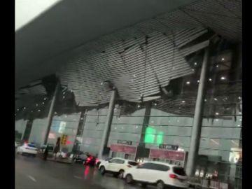 En China un temporal de viento y lluvia afecta a medio país