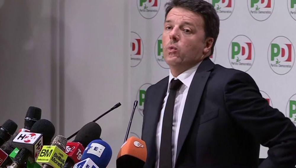 Renzi dimite como líder del Partido Democrático tras los malos resultados en las elecciones en Italia