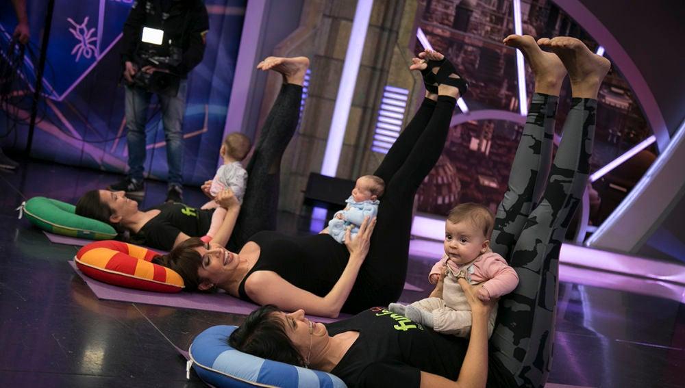 Pilar Rubio te enseña a practicar yoga con tu bebé