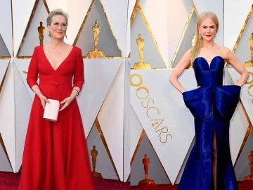 Meryl Streep y Nicole Kidman en los Oscar 2018