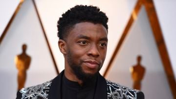 Chadwick Boseman en los Oscar 2018