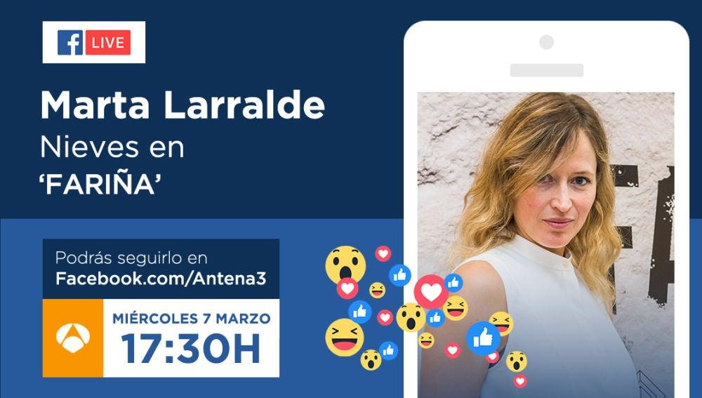 Envía tus preguntas para Marta Larralde, mujer de Sito Miñanco en 'Fariña'