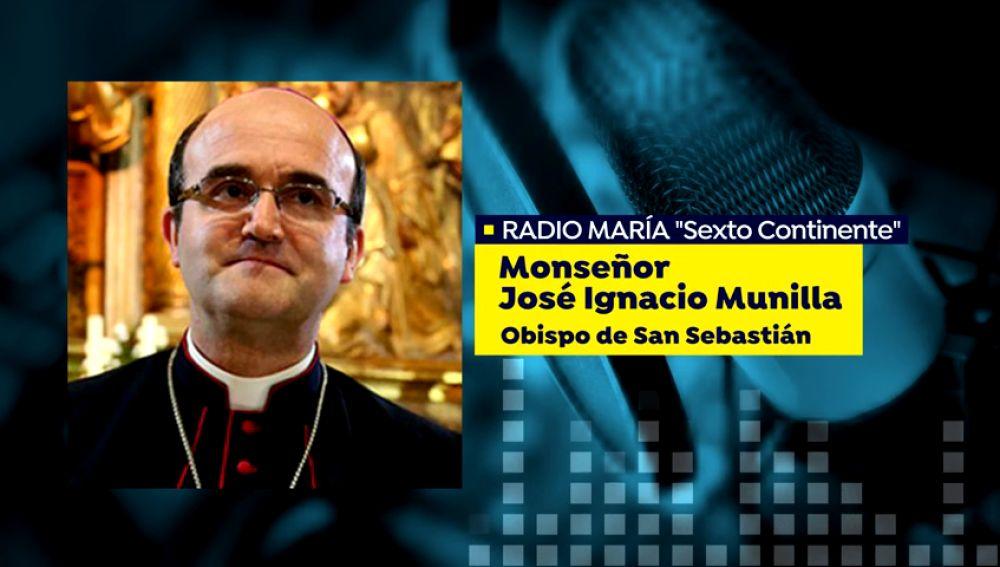 """El obispo de San Sebastián asegura que """"el demonio ha metido un gol desde sus propias filas"""" a la causa feminista"""
