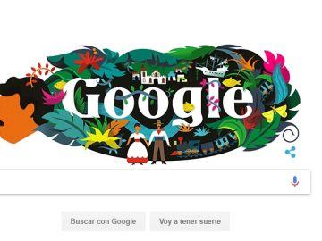 Google dedida su doodle a García Márquez