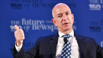 Jeff Bezos es el más rico del mundo