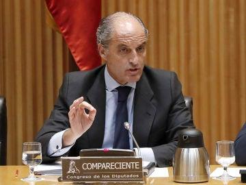 Francisco Camps comparece en el Congreso