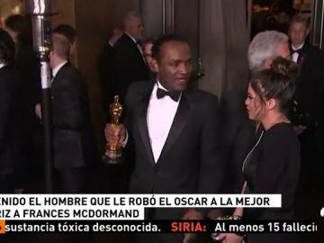 Detenido el hombre que robó el Óscar a la actriz Francesc MacDormand