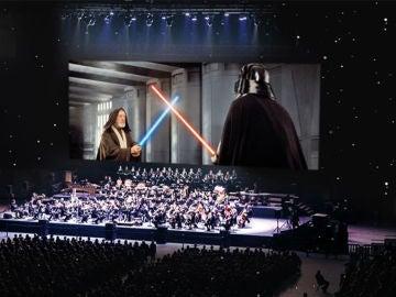 Concurso 'Star Wars: Una nueva esperanza' en concierto